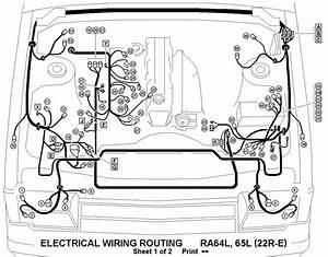Engine Diagram 1990 Toyota Pickup  Engine  Free Engine Image For User Manual Download