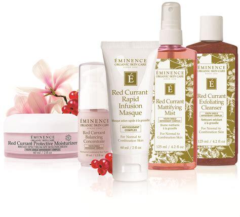 eminence organic skin care unveils innovative age