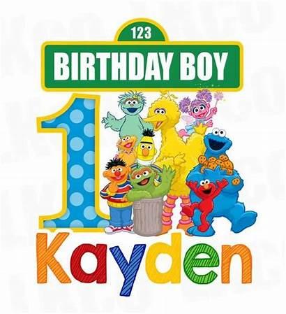 Sesame Birthday Street Clipart Boy Elmo Party
