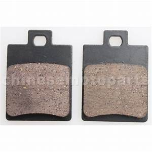 Atv Rear Disc Brake Pad Set For 50cc 70cc 90cc 110cc 125cc