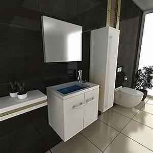 Gäste Wc Waschtisch Mit Unterschrank : g ste wc waschbeckenunterschrank weiss badm bel waschtisch handwaschbecken mit soft ~ Orissabook.com Haus und Dekorationen
