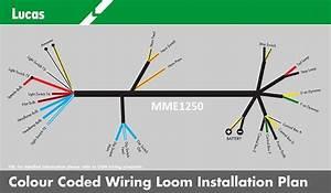 Genuine Lucas Bsa B31 B32 B33 B34 M20 M21 M33 Wiring Loom