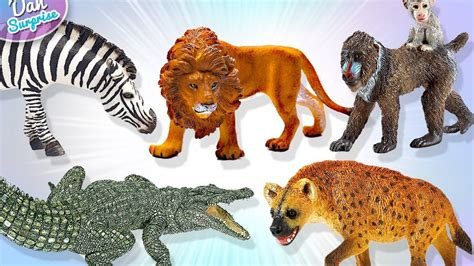 animal toys learn safari wild zoo animals names