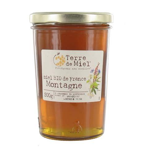 miel de montagne bio france 500g terre de miel acheter