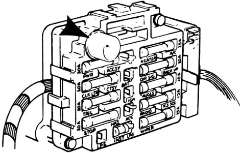 1981 Gmc Fuse Box Diagram by Repair Guides Circuit Protection Fusible Link