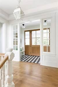 Black, And, White, Harlequin, Vestibule, Floor, Tiles