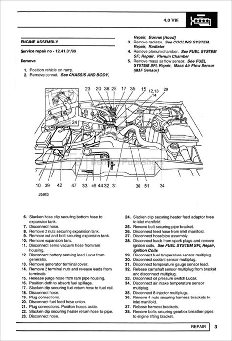 Discovery Engine Diagram by Excerpt Land Rover Land Rover Repair Manual Discovery