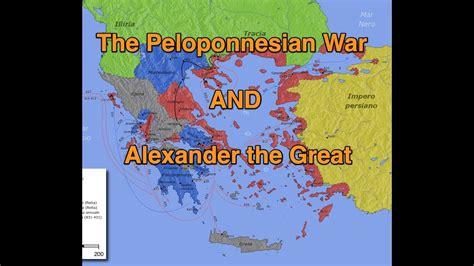 peloponnesian war  alexander  great   minutes