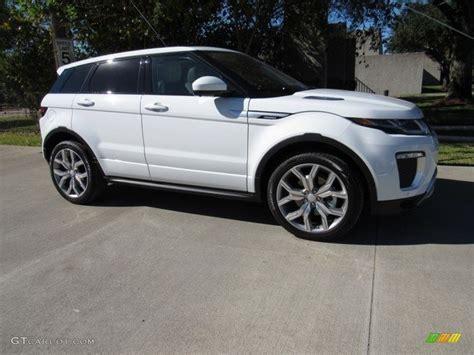 2017 Fuji White Land Rover Range Rover Evoque