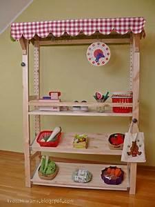 Kaufladen Selber Bauen Ikea : kroschka ikea hack kaufladen aus einem ivar regal kinderzimmer pinterest ~ A.2002-acura-tl-radio.info Haus und Dekorationen