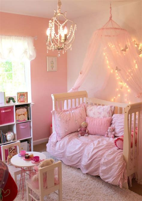 pink toddler bedroom ideas little girl bedroom ideas and adorable canopy beds for 16757 | toddler canopy bed idea pink toddler room decor