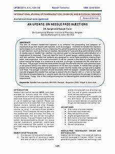 Update Needle Free Injections Pdf