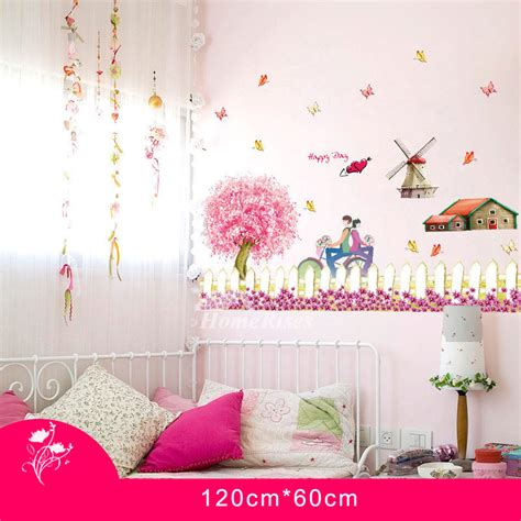 Check out our cherry wall decor selection for the very best in unique or custom, handmade pieces did you scroll all this way to get facts about cherry wall decor? Cherry Blossom Wall Stickers Home Decor Self Adhesive Romantic