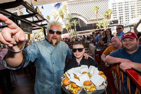 guy fieri celebrates  year anniversary  guy fieris vegas kitchen bar   linq hotel