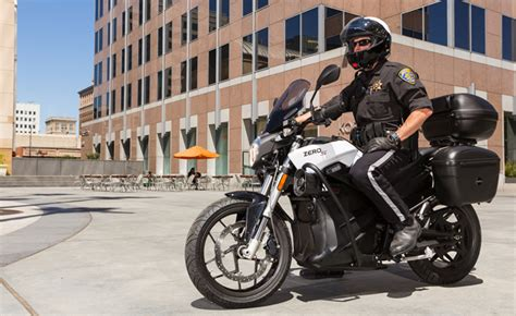 Zero Motorcycles Accepting Orders From Military And Law