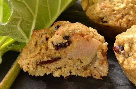 muffins 224 la rhubarbe et canneberges ma cuisine sant 233
