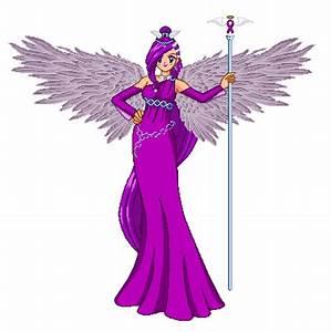 Purple Awarness Ribbon Angel by LavenderSeaFairy on DeviantArt