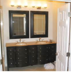 brilliant bathroom vanity mirrors decoration black wall mounted bathroom mirror design ideas - Bathroom Vanity And Mirror Ideas