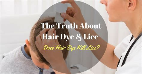 The Truth About Hair Dye And Lice