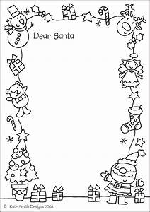16 free letter to santa templates for kids dear santa With dear santa letters from kids