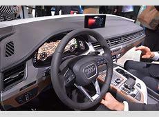 CES 2015 Audi dévoile l'habitacle du nouveau Q7 L'argus
