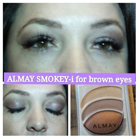 almay trio  brown eyes tutorial youtube