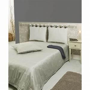 Idee De Tete De Lit : tete de lit avec coussin ~ Teatrodelosmanantiales.com Idées de Décoration