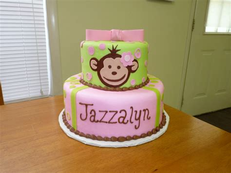 Monkey Birthday Cake Template by Monkey Cakes Decoration Ideas Birthday Cakes