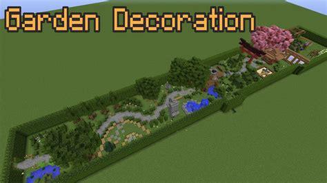 Garden Decoration Minecraft by Minecraft Garden Decoration Ideas
