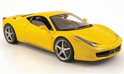 Yellow Wheels Ferrari 458 Italia 2009 Voiture