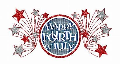 4th July Happy Word Fourth Clipart Clip