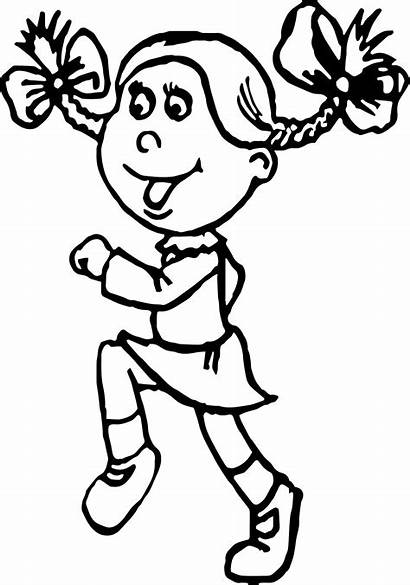 Coloring Student Jogging Activity Pages Wecoloringpage