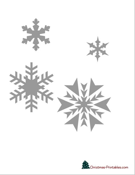 snowflake printable stencils    decorating cake
