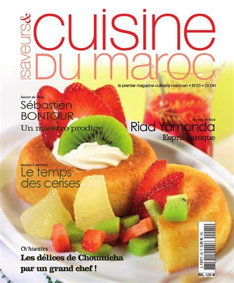 telecharger cuisine télécharger saveurs cuisine du maroc n 23 2015