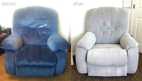Reupholster Lazy Boy Cost by All Things Cbell How To Make A La Z Boy Recliner Less