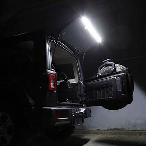 Led Rear Tailgate Glass Gate Hatch Dome Light Bar For Jeep