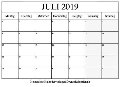 druckbarer kalender fuer juli