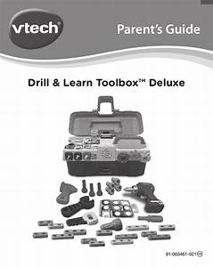 Vtech Drill And Learn Toolbox Deluxe Role