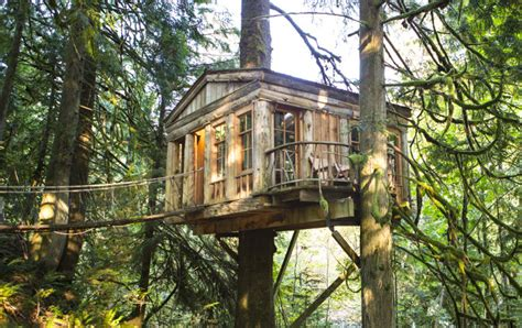 10 Amazing Treehouse Hotels To Fulfill Your Childhood