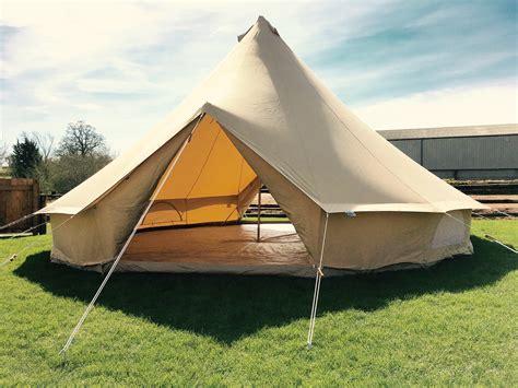 7m ZIG Bell Tent   Double Door   Karma Canvas