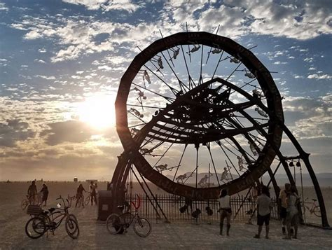 burning man  art installations nevada