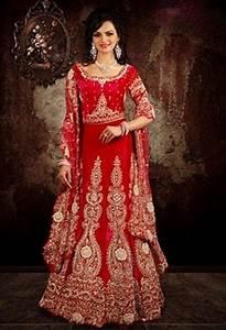 indian wedding dress 2 piece red dweddingdresscom With indian wedding dresses