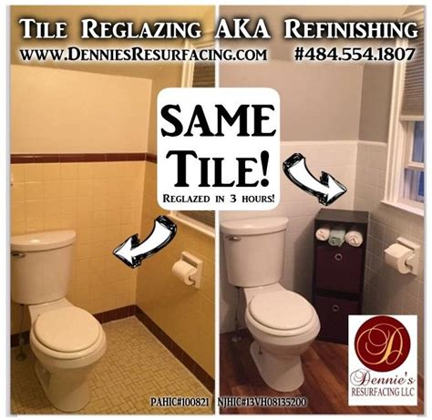 reglazing for old outdated tile save by resurfacing
