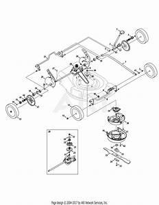 Troy Bilt 12ai832q711  2010  Parts Diagram For Drive