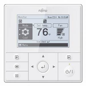 Fujitsu Uty Rvnum Optional Wired Programmable Remote