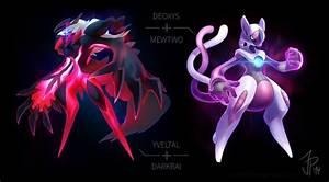 Deoxys e Mewtwo si fondono in un solo Pokemon, insieme a ...
