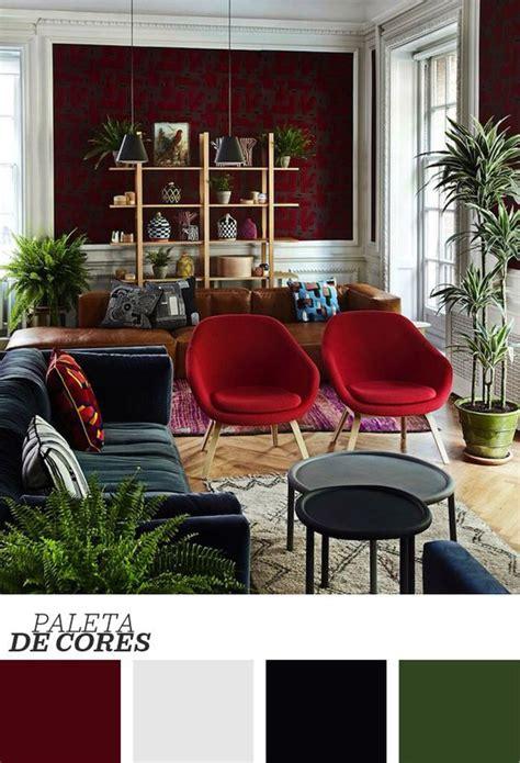 sofa vermelho parede verde pinterest o cat 225 logo mundial de ideias