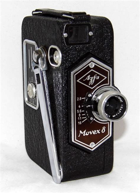 Filevintage Agfa Movex 8 Movie Camera, The First Single8