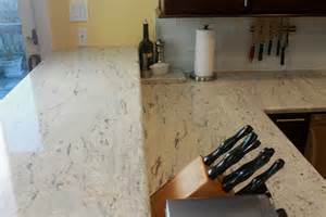 River White Granite Kitchen