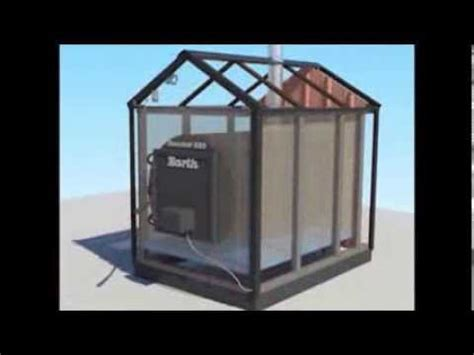 outdoor wood furnace installation  operation youtube